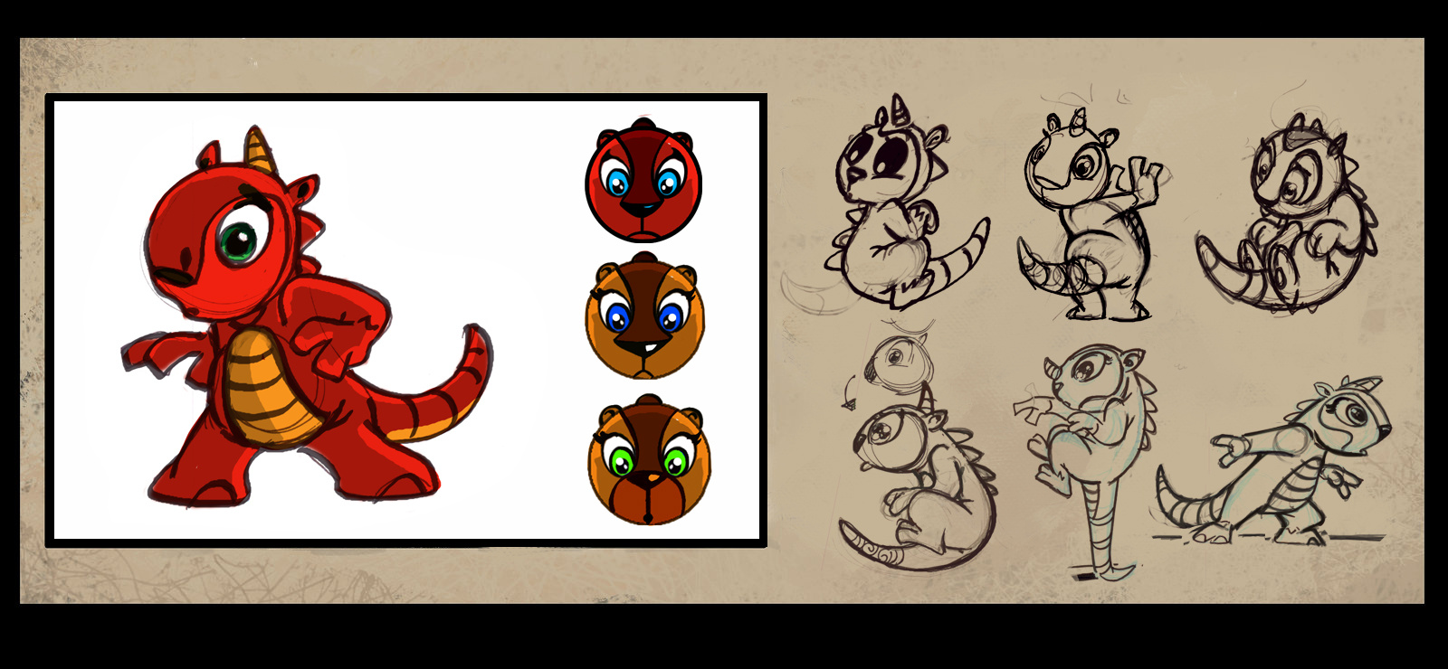 Character Design Download : Wilovskiart tv commercial classic animation software